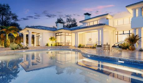 Beautiful house mortgage