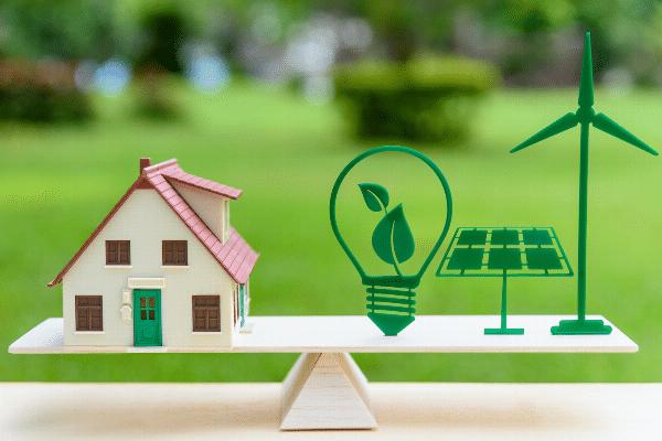 Green energy house buying